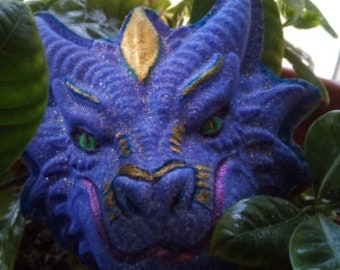 Dragon Boujee Bomb FREE SHIPPING eligible ~ Hand-painted Spa Bath Fizzie ~ 6.5 oz. ~ Mother's Day
