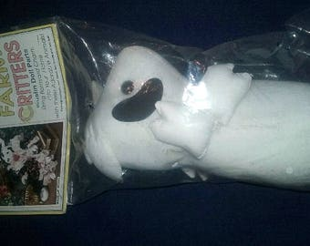 Farm Critters Stuffed Cotton Muslin Cow Doll Parts HBD06