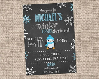 Winter Onederland-Boys first birthday-winter birthday-snowflake birthday-Winter Wonderland
