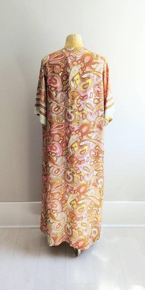 Medium Vintage 1960s Womens Wrap Summer Dress Jac… - image 4