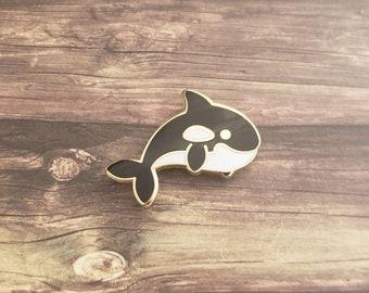 Happy Orca // Ocean Pin // Hard Enamel Pin // Lapel Pin