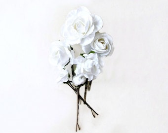 Wedding Hair Flower Etsy