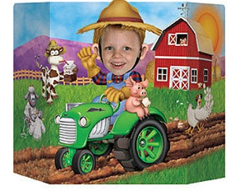 Johnny tractor party | Etsy