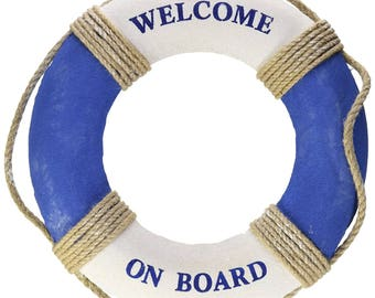 0fc6004c0a70 Nautical Life Ring Decoration  Welcome Aboard Decor  Baby On Board Shower  Decoration  Nursery Decoration  Under The Sea  Beach Theme decor