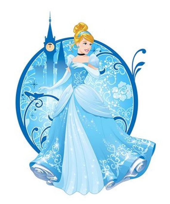 Cinderella Princess Wall Decor Disney Princess Birthday Gifts Princess Bedroom Wall Decorations Disney Decor Princess Theme Gift Gifts