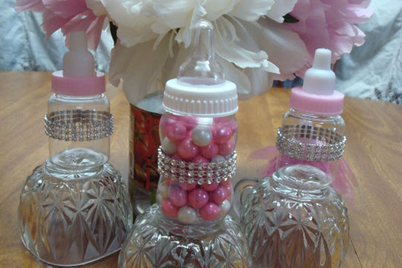 Tremendous Baby Bottle Favors Bling Decorations Princess Baby Shower Favors Baby Bottle Favors Guest Thank You Gifts Table Decorations Princesses Home Interior And Landscaping Spoatsignezvosmurscom