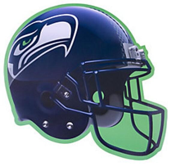 Seattle Seahawks Party Decorations Seattle Seahawks Helmet Etsy