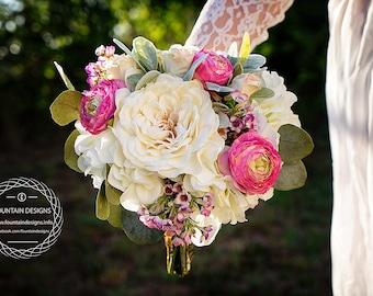 Classic Garden- Wedding Bouquet