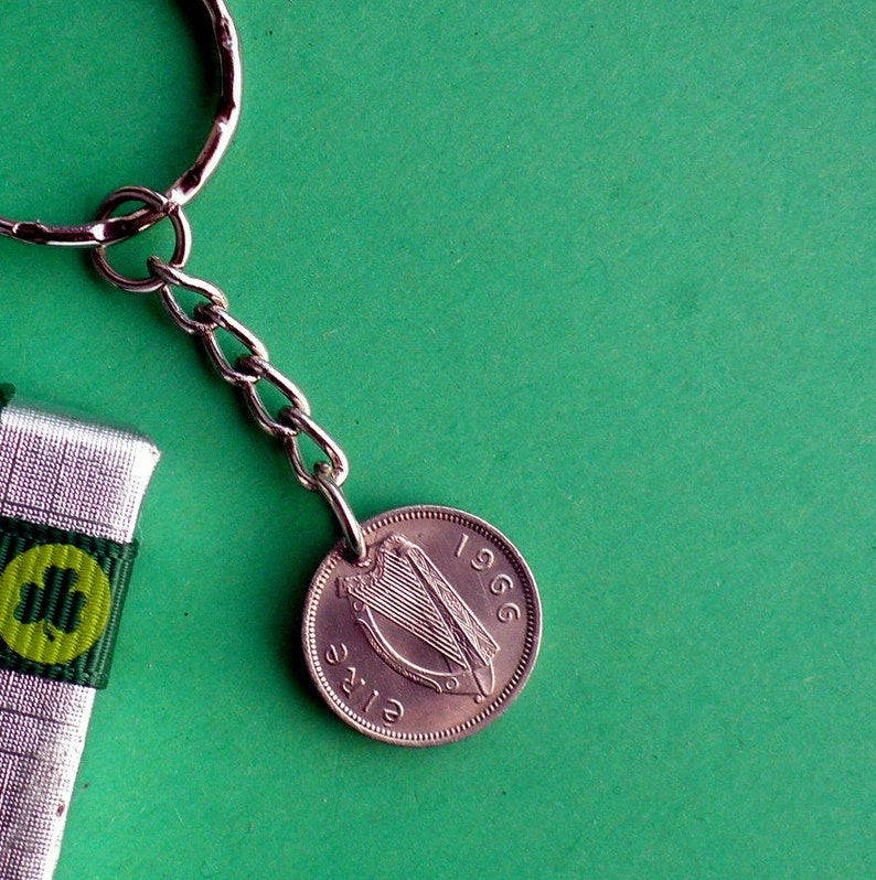 Northern Ireland Key Chain Keyring Luggage Tag Zipper Pull Bag Irish Key Ring