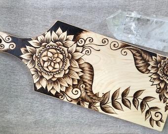 Woodburned Cutting Board