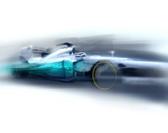 2012 F1 car - Goodwood Festival of Speed Print