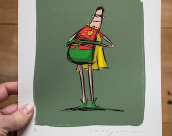 Robin - Limited edition Print