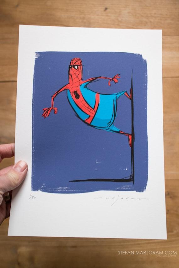Spiderman - Limited edition Print