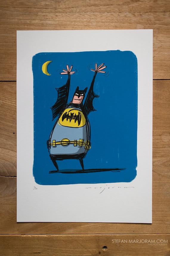 Batman - Limited edition Print