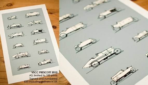 VSCC Prescott Print