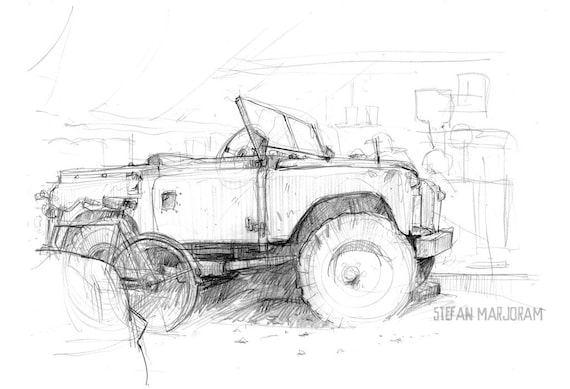 Land Rover Limited Edition Print