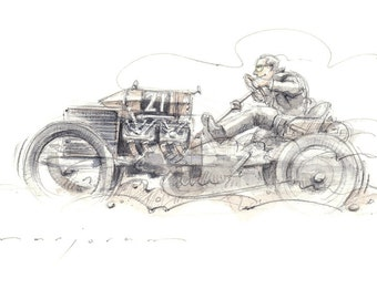 200HP DARRACQ Limited Edition Print