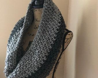 Crochet Cowl ~ Circle Scarf
