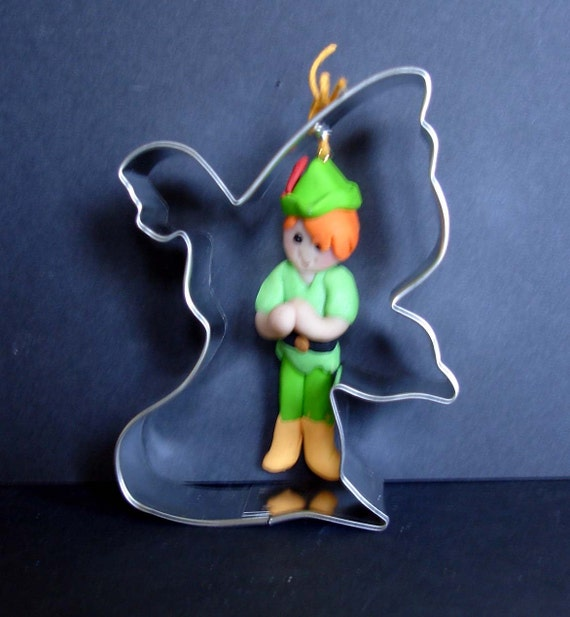 image 0 - Peter Pan Christmas Ornament Tinkerbell Cookie Cutter Fairy Etsy
