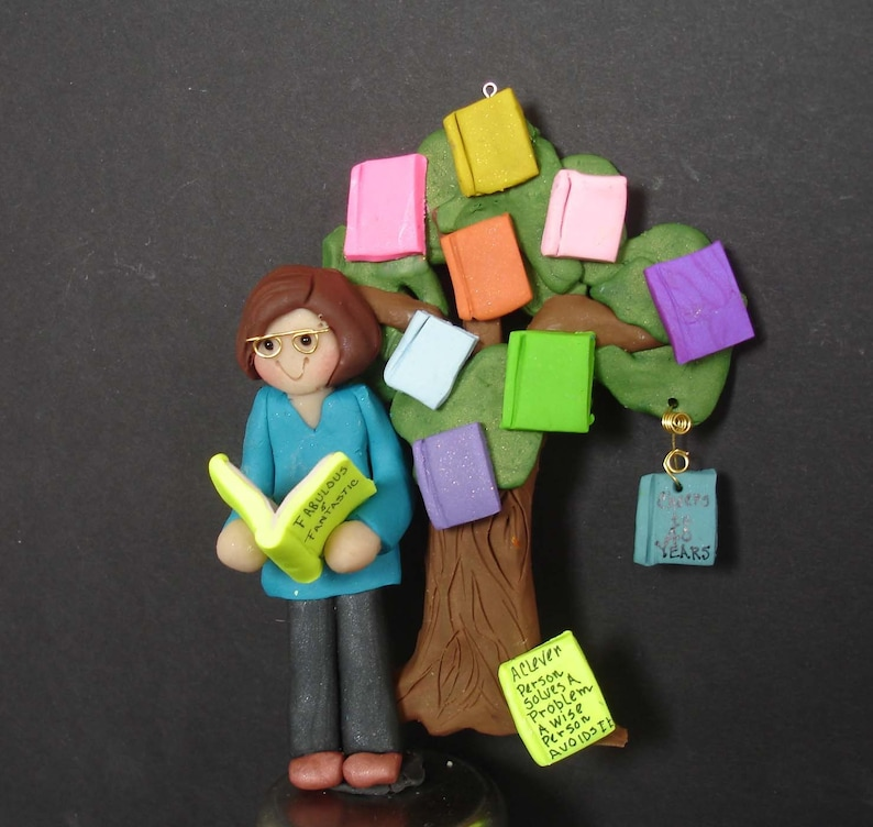 Reading Challenge Christmas Ornament Book Club Treehouse Polymer Clay Milestone Cake Topper Goodreads Discussion Topics Mystery Fiction