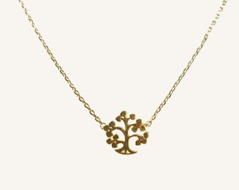 Tree of Life Necklace, Gold Tree of Life, Dainty Tree of Life Necklace, Small Tree of Life, Inspirational jewelry, sale, everyday necklace