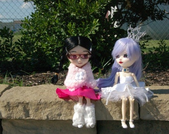 Custom Isul Kuranosuke and Custom Pullip Tsukimi