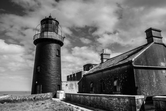 "18"" x 12"" Irish Landscape portrait of Ballycotton Lighthouse"