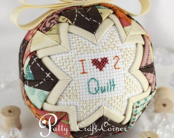 Quilters Ornament - Hobby Ornament -  - Crafters Ornament