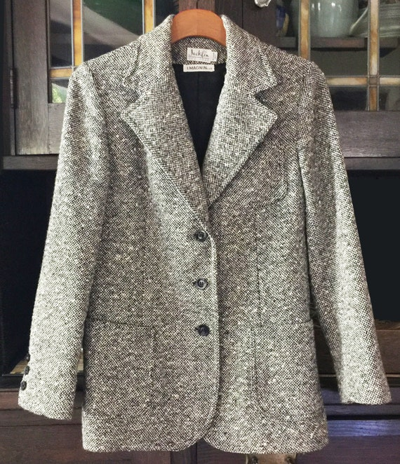 1970s Wool Tweed Jacket I Magnin