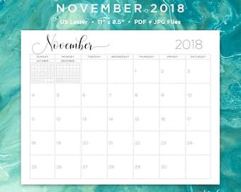 november 2018 calendar november 2018 november calendar november calendar printable calendar printable monthly calendar 2018