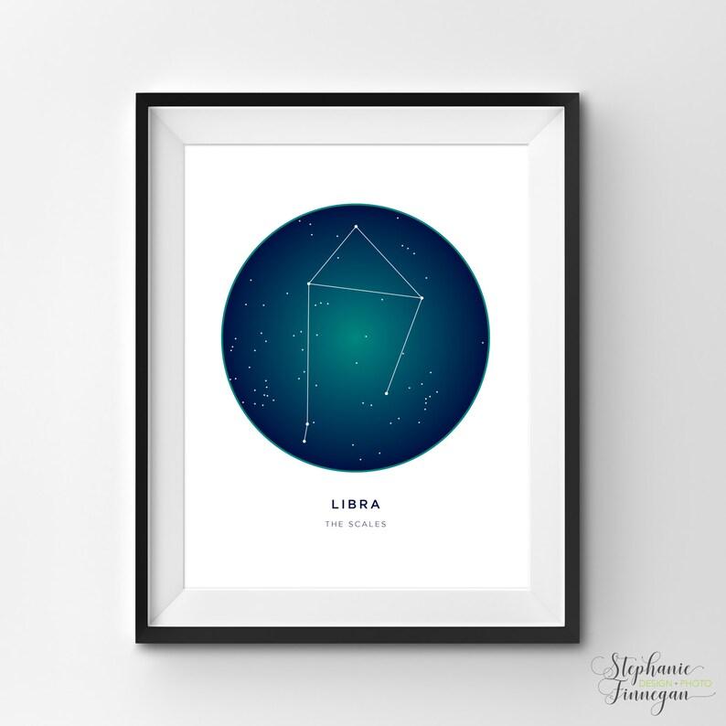 picture regarding Constellation Printable named Libra Printable Libra Artwork Print Constellation Printable Constellation Artwork Constellation Zodiac Artwork Printable Artwork