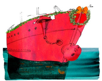 Lightship Winterquarter Holiday cards