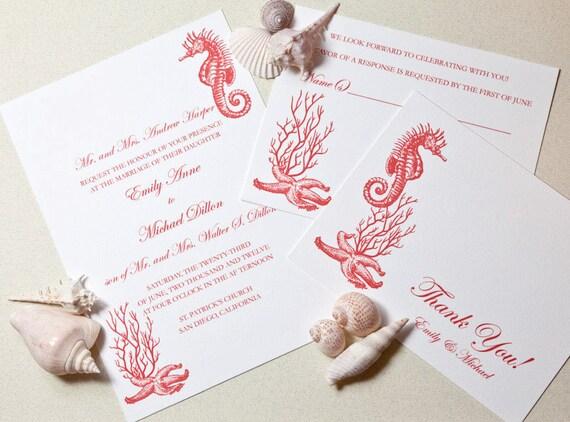 Printable Beach Wedding Invitations: Items Similar To Printable Destination Wedding Invitation