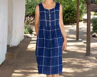 2c3a9a6528 Linen dresses handmade in California. by PyneandSmith on Etsy