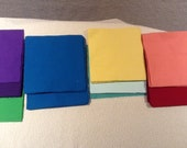 Pre-cut Quilting Squares, Cotton fabric 6 quot squares - QTY 300 Solid Variety Mix, Reserved