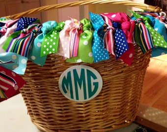 Preppy Bicycle Baskets
