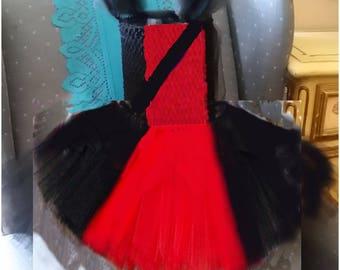 Birthday Deadpool Dead Pool Tutu Dress Costume