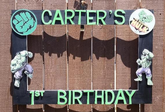 Birthday Baby Shower Wedding Hulk Or Any Theme You Want Etsy