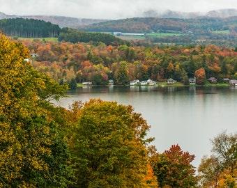 The Lake -  Nature, Landscape, Vermont Photography, Autumn, Fall Photography, Fine Art Print, wall decor, fine art, art, New England
