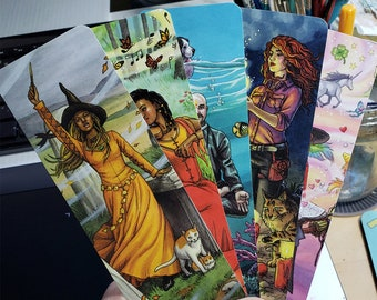 Bookmark Set - Everyday Witch Oracle Art