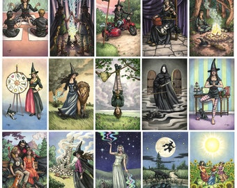 Prints - Everyday Witch Tarot - Choose from Major Arcana