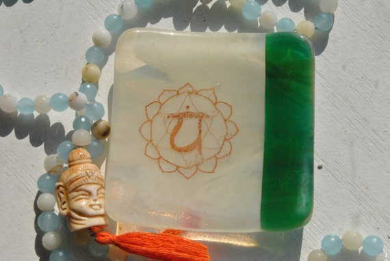 Heart Chakra Mini Glass Dish