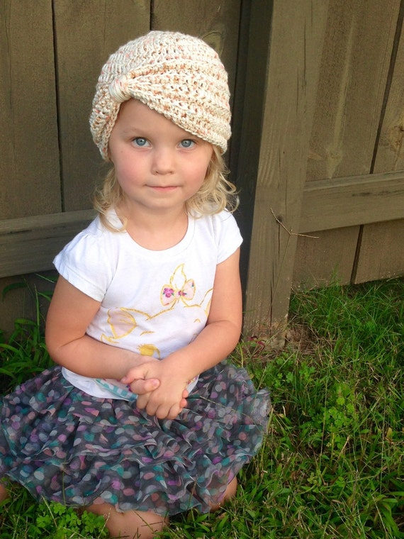 7f21d72688d 100% Cotton Crochet Baby Turban Crochet baby Hat Crochet