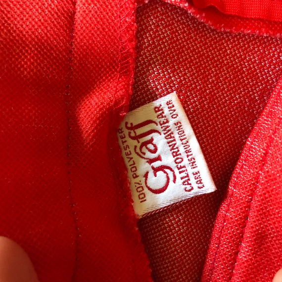 Vintage 70s Red Culottes, Retro Red Culottes, 197… - image 3