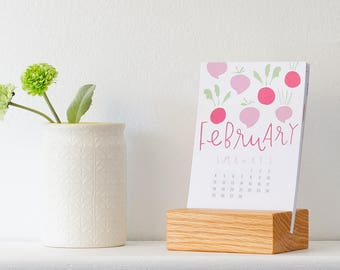 stocking stuffer - 2018 kitchen calendar (without stand)