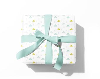 little mountains gift wrap