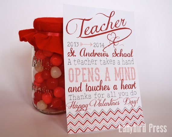 how to make a valentine day card for your teacher