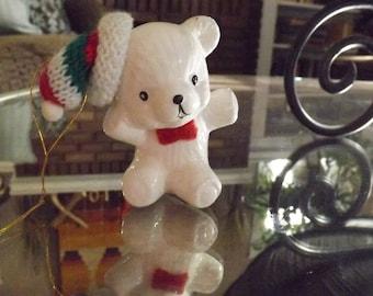 Vintage Teddy Bear Christmas Ornament / Vintage Christmas Ornament / Vintage Teddy Bears