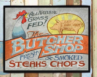 Butcher Etsy