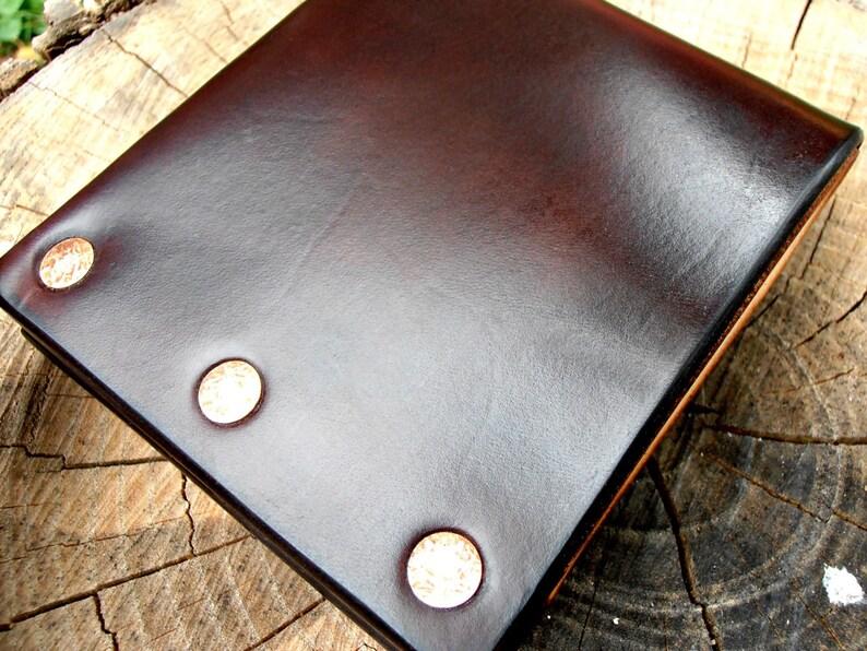 Superb Men's Leather Wallet Men's Wallet Men's image 0